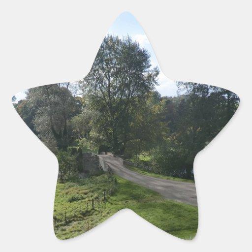 Calzada de Haddon Pasillo Calcomanía Forma De Estrella Personalizadas