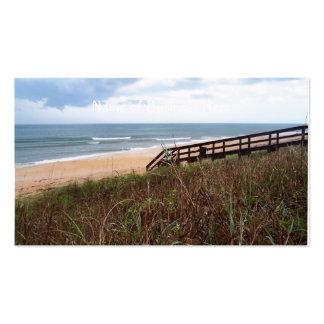 Calzada de la playa de Flagler Tarjeta De Visita