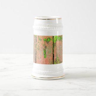 Calzada de los ladrillos jarra de cerveza