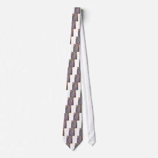Calzada de madera hecha de tablones corbata