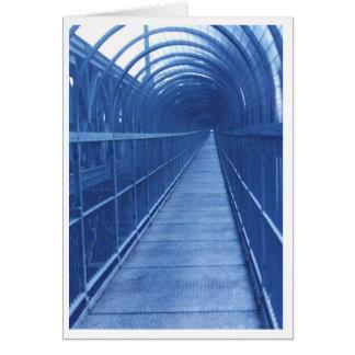 Calzada del puente tarjeta de felicitación
