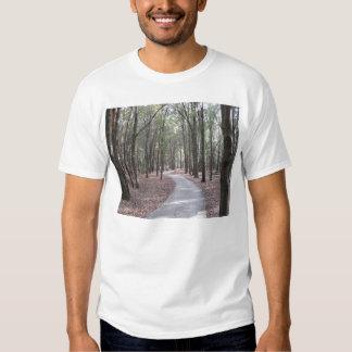 Calzada en la camiseta del parque de Sholom Playera