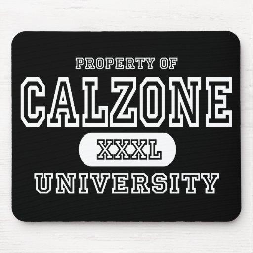 Calzone University Dark Mouse Pad
