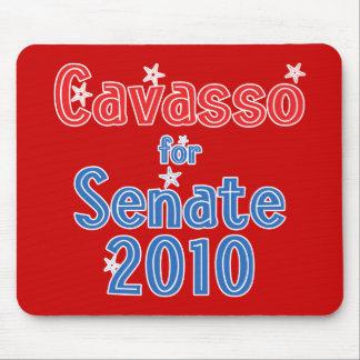 Cam Cavasso for Senate 2010 Star Design Mouse Pad