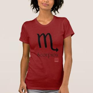 Cam.Fem.Símbolo/Escorpião/French T-Shirt
