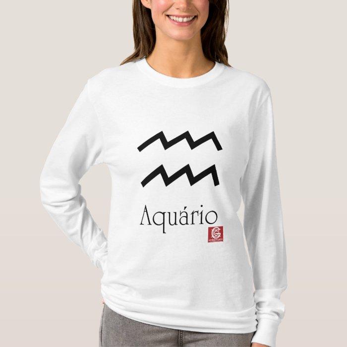 """Cam.Fem. """"Symbol-aquarium """" T-Shirt"""
