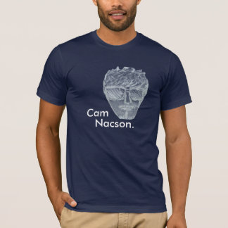 Cam Nacson- Drawing with glassers-Navy T-Shirt
