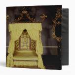 Cama de la cama imperial, en el estilo chino, 1750