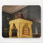 Cama de la cama imperial, en el estilo chino, 1750 alfombrilla de raton