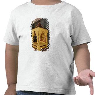 Cama de la cama imperial, en el estilo chino, 1750 camisetas