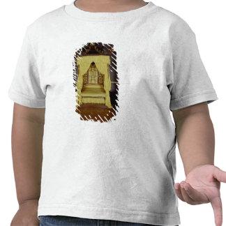 Cama de la cama imperial, en el estilo chino, 1750 camiseta