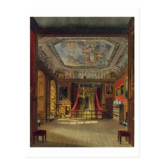 Cama de la reina Anne, castillo de Windsor, de Tarjetas Postales