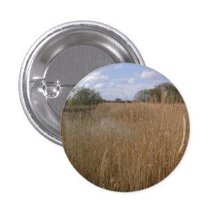Cama de lámina de oro en Hickling amplio, Norfolk Pin Redondo 2,5 Cm