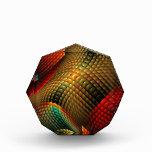 Cama de las ilustraciones abstractas del fractal d