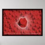 Cama de los rosas #3 impresiones