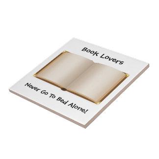 Cama del aficionado a los libros (personalizable) tejas  ceramicas