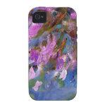 Cama del Agapanthus de Monet Case-Mate iPhone 4 Carcasa