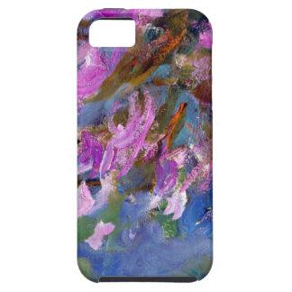 Cama del Agapanthus de Monet iPhone 5 Funda