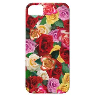 Cama del caso del iPhone de los rosas iPhone 5 Funda