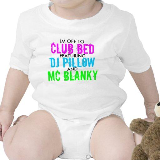 Cama del club traje de bebé