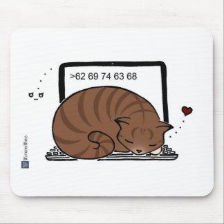 Cama del gato del ordenador portátil Tabby de Bro Tapetes De Ratones