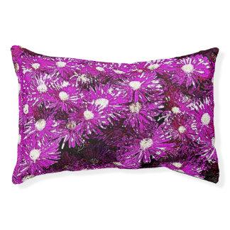 Cama púrpura del perro del extracto del casquete cama para perro pequeño