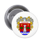 Camacho Coat of Arms/Family Crest (Mantled) Buttons