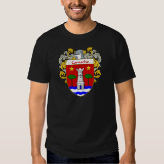 Camacho Coat of Arms/Family Crest (Mantled) T-shirt
