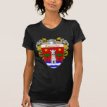Camacho Coat of Arms/Family Crest (Mantled) Tee Shirts