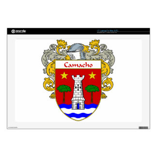 Camacho Coat of Arms/Family Crest Skin For Laptop