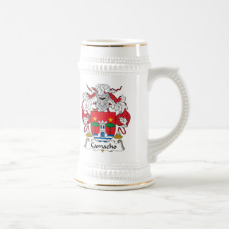 Camacho Family Crest Beer Stein