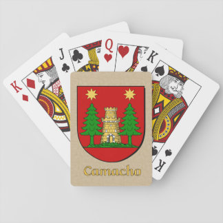 Camacho Heraldic Shield Playing Cards