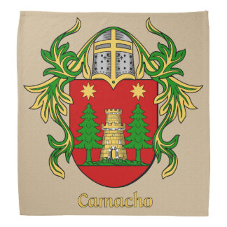 Camacho Historical Coat of Arms Bandana