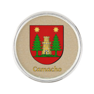Camacho Historical Shield Lapel Pin