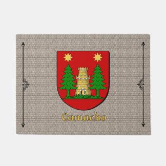 Camacho Historical Shield on Cobblestone Doormat