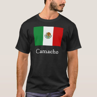 Camacho Mexican Flag T-Shirt