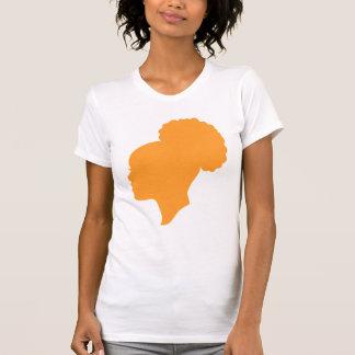 Camafeo anaranjado camiseta