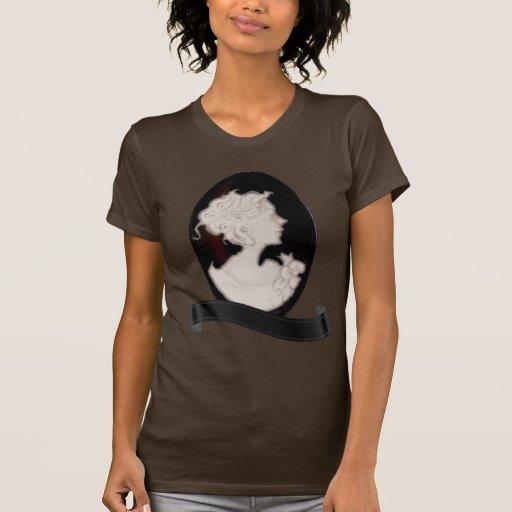 Camafeo clásico (marfil/Brown) Camiseta