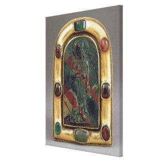 Camafeo de Cristo que da la bendición Lienzo Envuelto Para Galerías