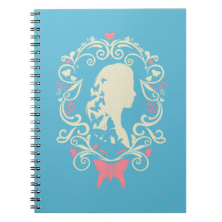 Camafeo de la mariposa de Cenicienta Note Book