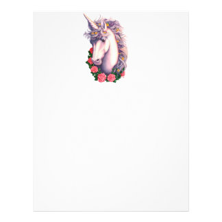 Camafeo del unicornio membretes personalizados