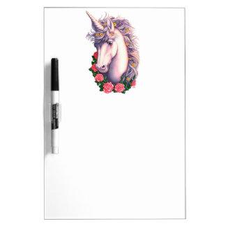 Camafeo del unicornio pizarras blancas