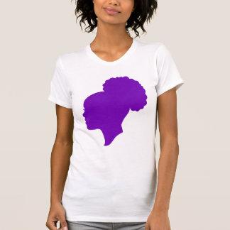 Camafeo púrpura camisetas