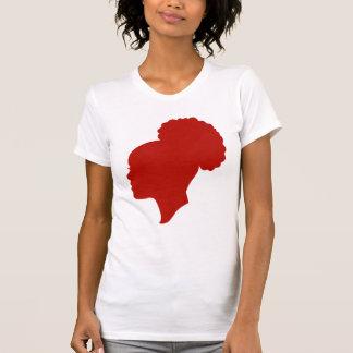 Camafeo rojo camiseta