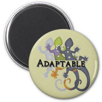 Camaleón adaptable imán redondo 5 cm