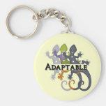 Camaleón adaptable llavero