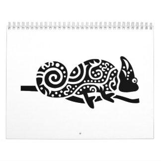 Camaleón Calendarios De Pared