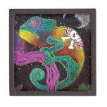 Camaleón colorido cajas de regalo de calidad