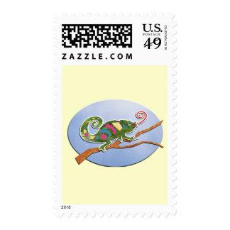 Camaleón colorido envio
