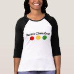 Camaleón de las karmas camisetas